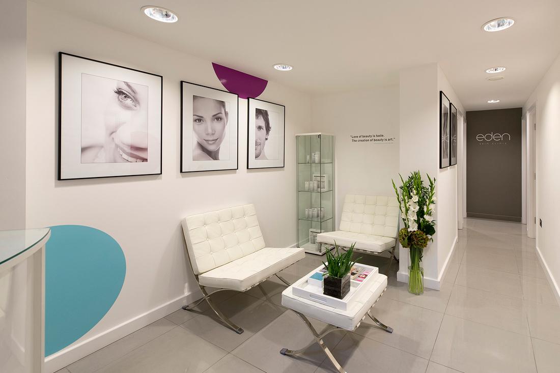 Eden Skin Clinic Reception