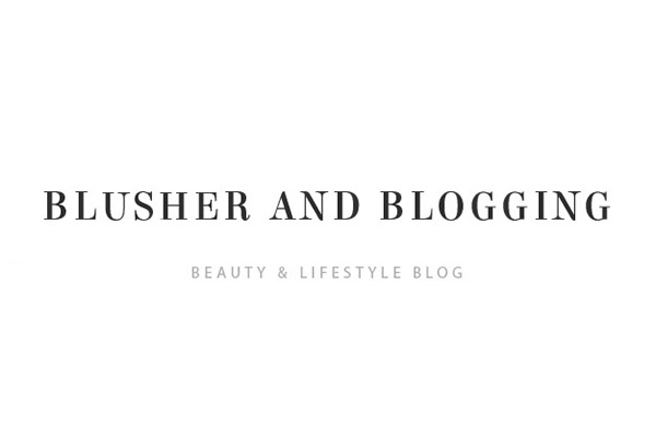 Blusher and Blogging